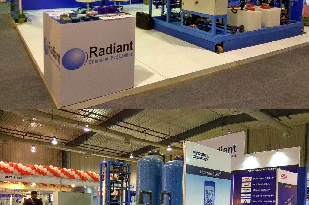 radiant chemical stall fabrication